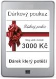 Dárkový poukaz v hodnotě 3000 Kč